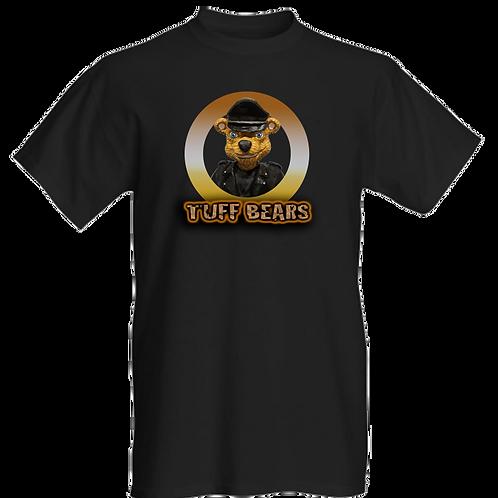 James The Biker Bear Mens T-Shirt
