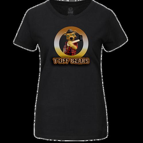 Paul The Lumberjack Bear Ladies T-Shirt
