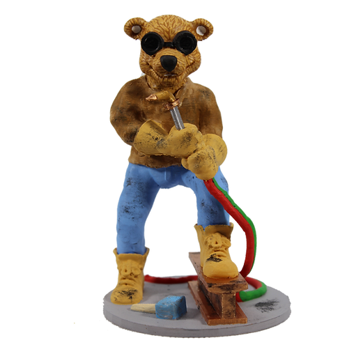 Dan the Welder Bear