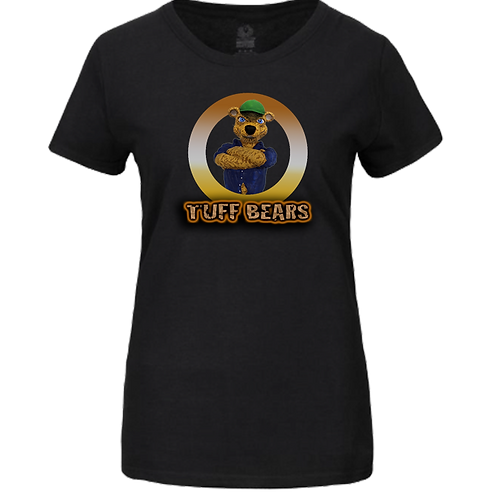Mac The Handyman Bear Ladies T-Shirt