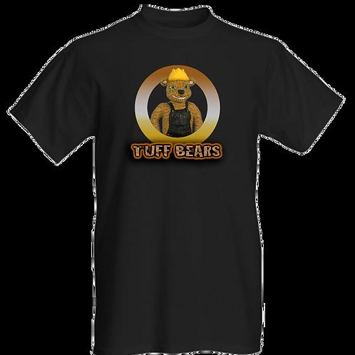 Hank The Construction Bear Mens T-Shirt