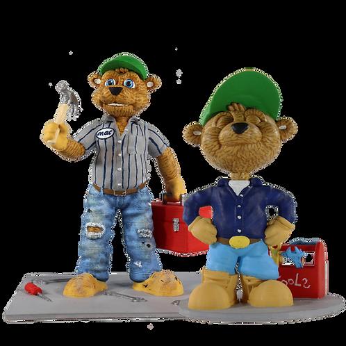 Mac/Mac Jr. Bear and Cub Duo Pack