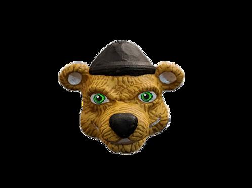 Paul the Lumberjack Bear Fridge Magnet