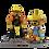 Thumbnail: Hank/Hank Jr. Bear and Cub Duo Pack