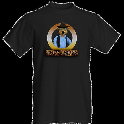 John the Cowboy Bear Mens T-Shirt