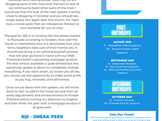 Community Blog: July-September 2021 Re:Cap & String Updates