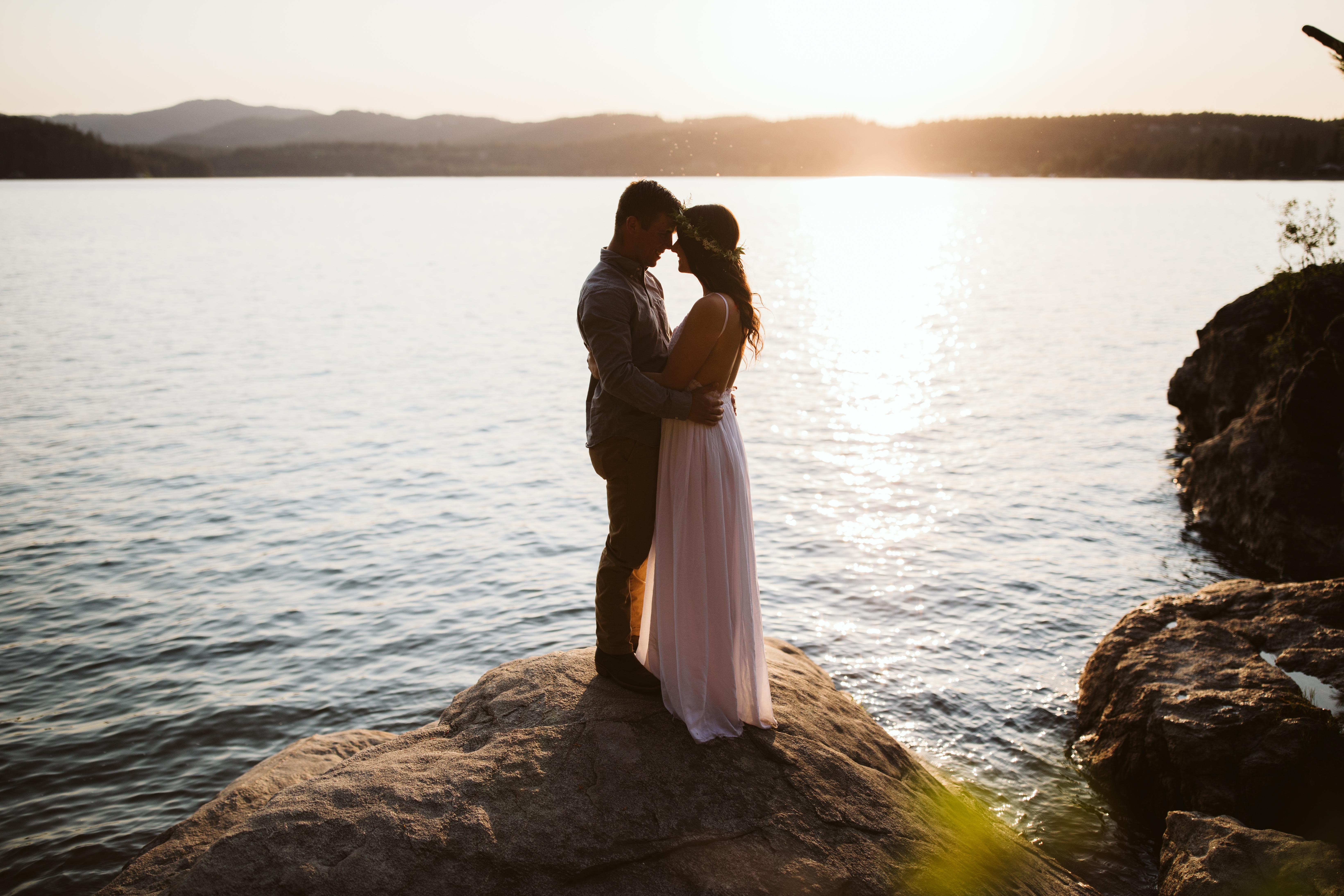 coeur d'alene wedding photographers
