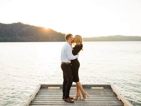 Priest Lake Engagement Session | Washington & Idaho Photographer
