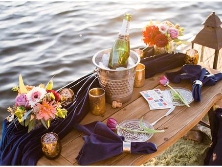 Lakeside Surprise Proposal | Loon Lake, Wa