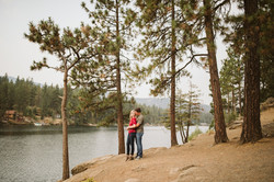 post falls Idaho engagement session