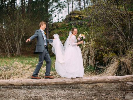 Whitney & Trevor   Post Falls, Idaho Wedding