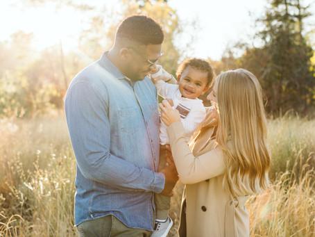 Golden Fall Family Session | Spokane Photographer