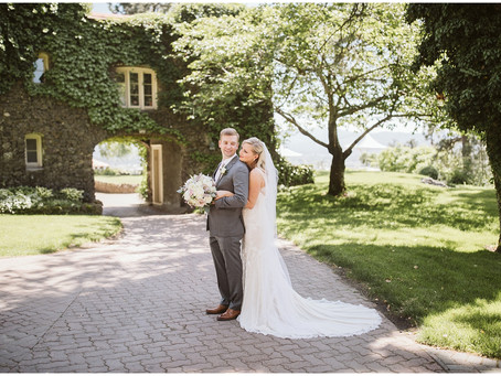 Romantic Spring Wedding at Arbor Crest Winery
