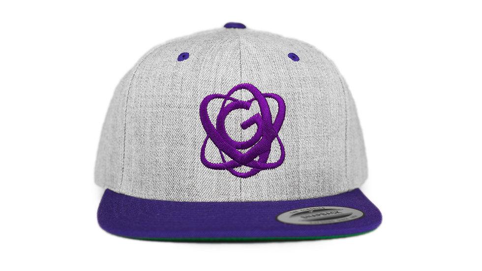 Gevity Gray & Purple snapback