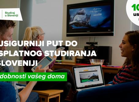 Upišite se na besplatne studije u Sloveniji: rokovi za prijavu su produženi
