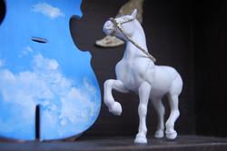 Horse King II Storybox - detail