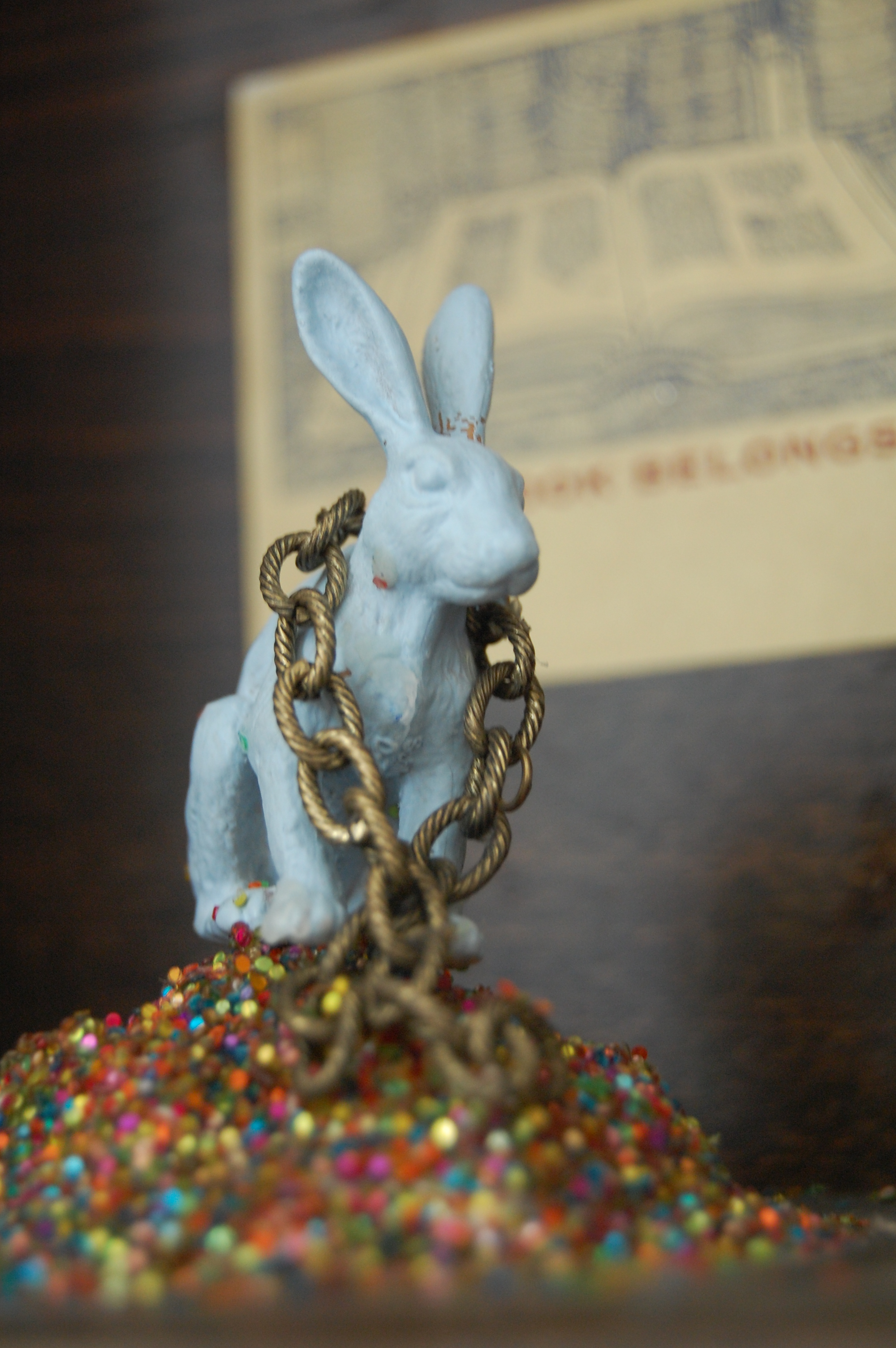 Blue Hare - Witches detail