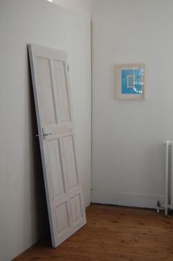 Door with Glitter Handle