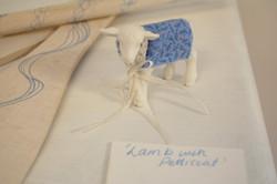 Lamb with petticoat