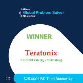 Winner in the 2021 Cisco Global Problem Solver Challenge