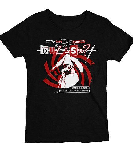 """""""Bullsh?t"""" t-shirt, black"""