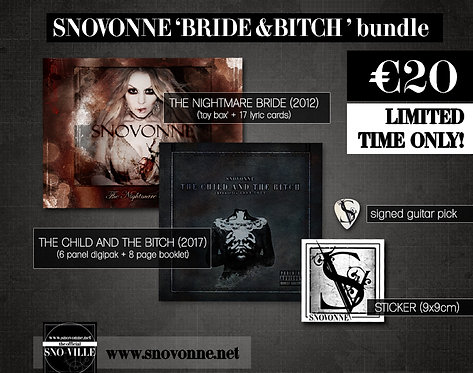 "Snovonne ""BRIDE & BITCH"" BUNDLE"