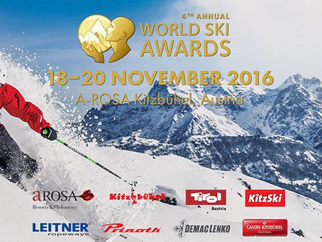 EICHARDT'S PRIVATE HOTEL CROWNED ONCE AGAIN AT WORLD SKI AWARDS