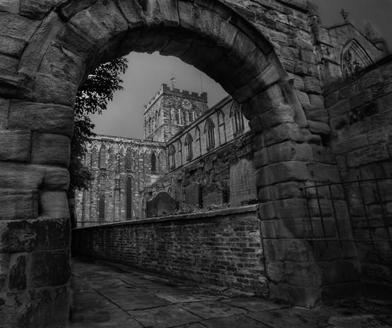 Abbey Through The Arch
