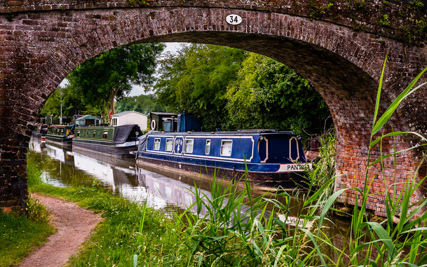 By The Canalside