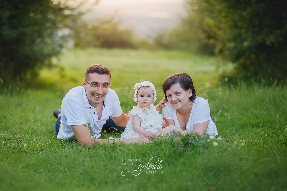 Ședință foto de familie în natură în Iași