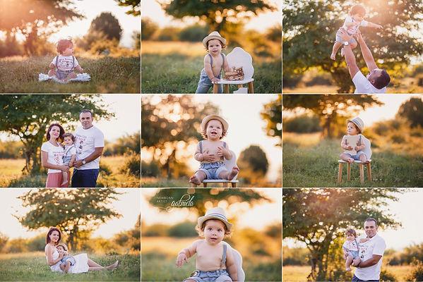 Portrete de familie în natură
