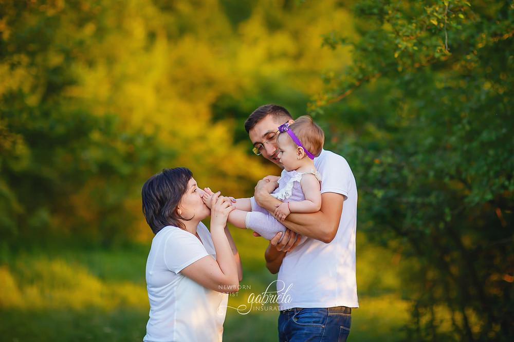 Ședință foto de familie în natură!