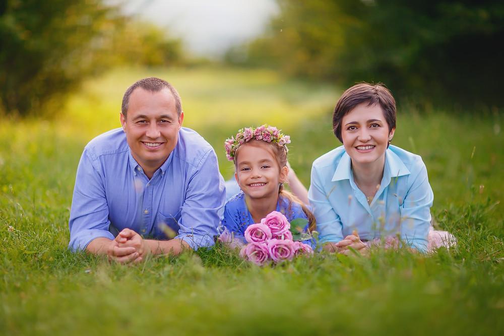 Sedinta foto de familie in natura in Iasi.