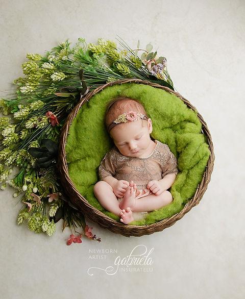 Ședința foto bebeluș nou nascut în Iași