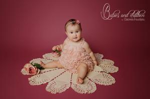 Giulia la 9 lunițe