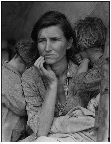 A migrant mother