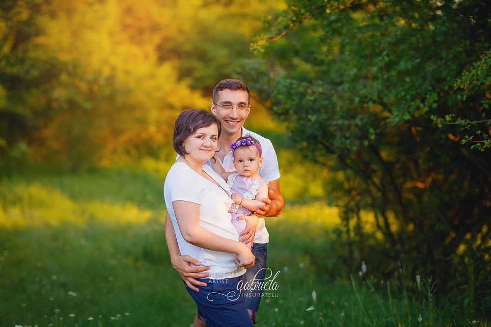 Sedinta foto in natura cu familia in Iasi
