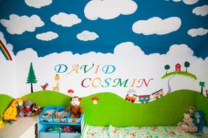 Camera copilului, un univers magic