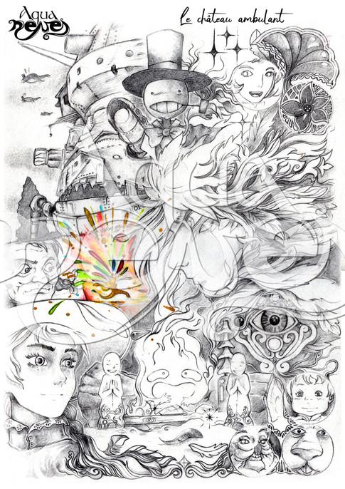 Chateau Ambulant - Ghibli