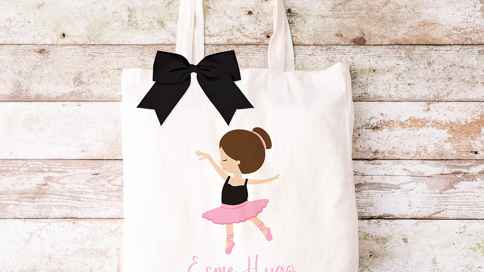 Pure Cotton Cute girls Tote bag