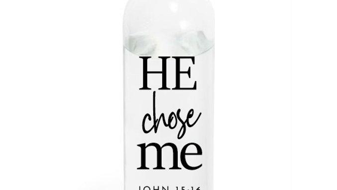 Plastic Water bottle 580ml He chose me