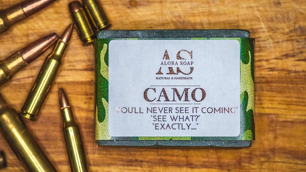 Camo Glycerine Soap bar