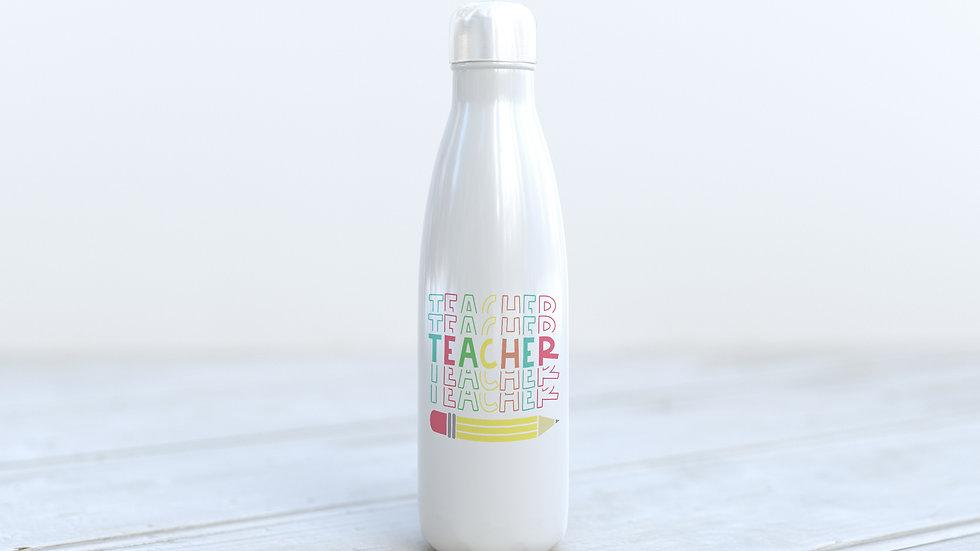 600ml Aluminium bottle Teacher