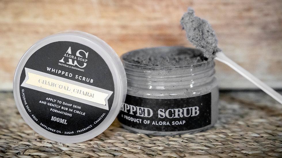 Whipped Scrub Charcoal Charm