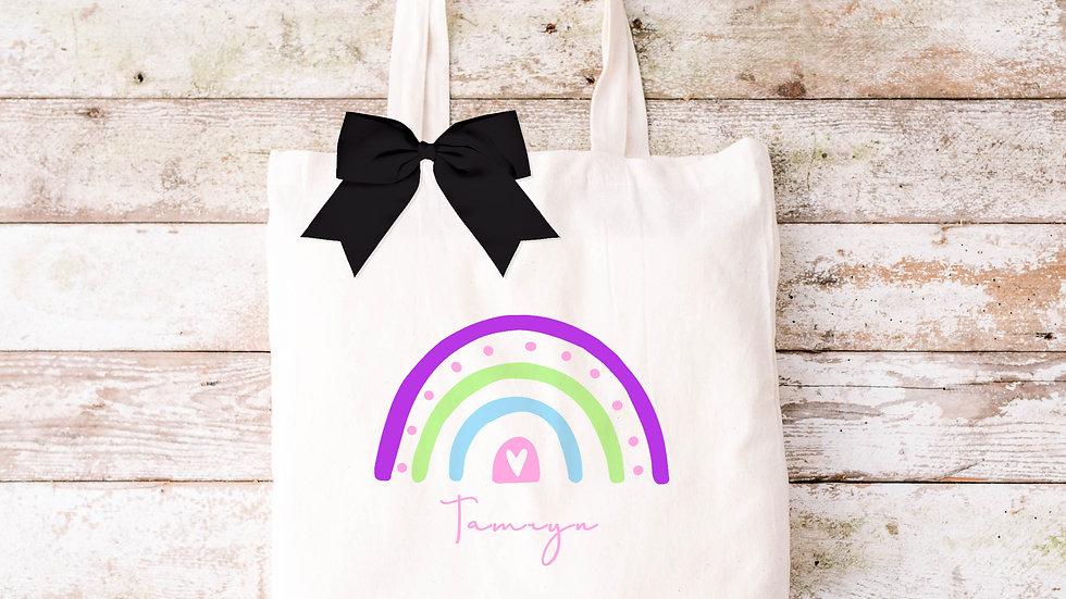 Pure Cotton Rainbow Tote bag