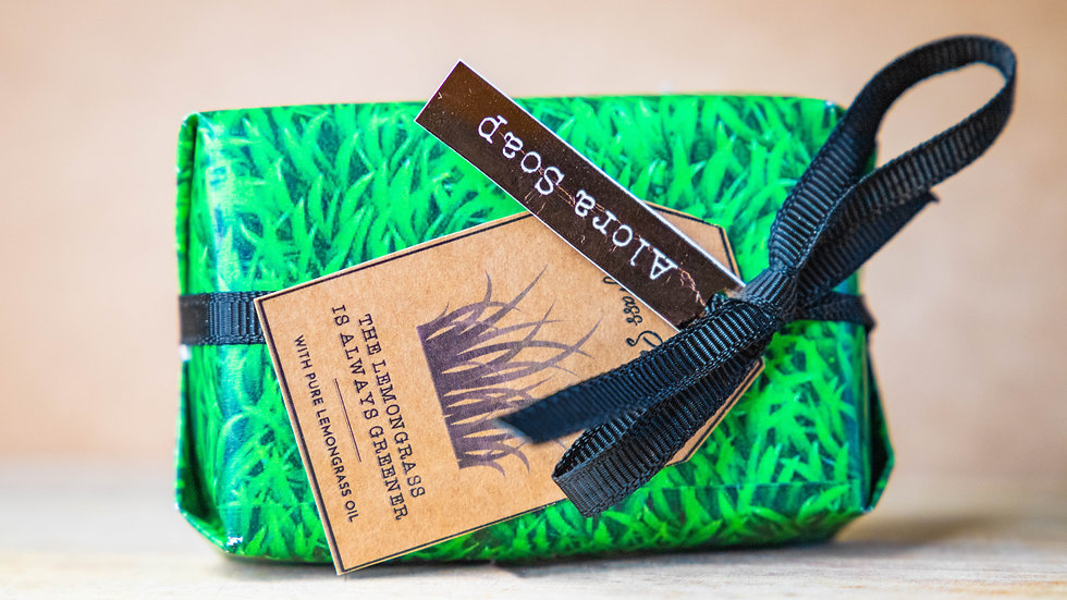 Lemongrass Glycerine Soap bar