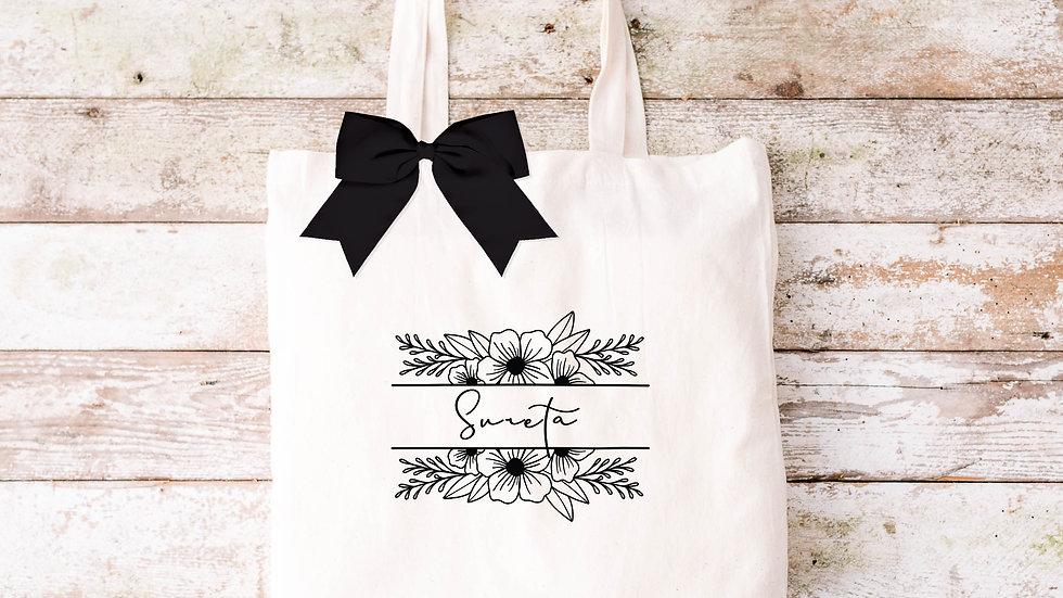 Pure Cotton Floral Tote bag