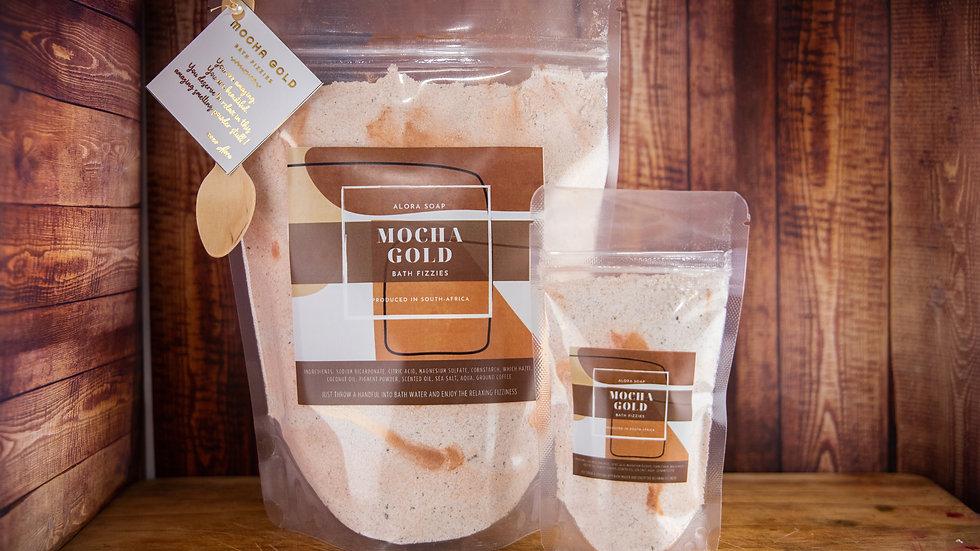 Mocha Gold Bath fizzies
