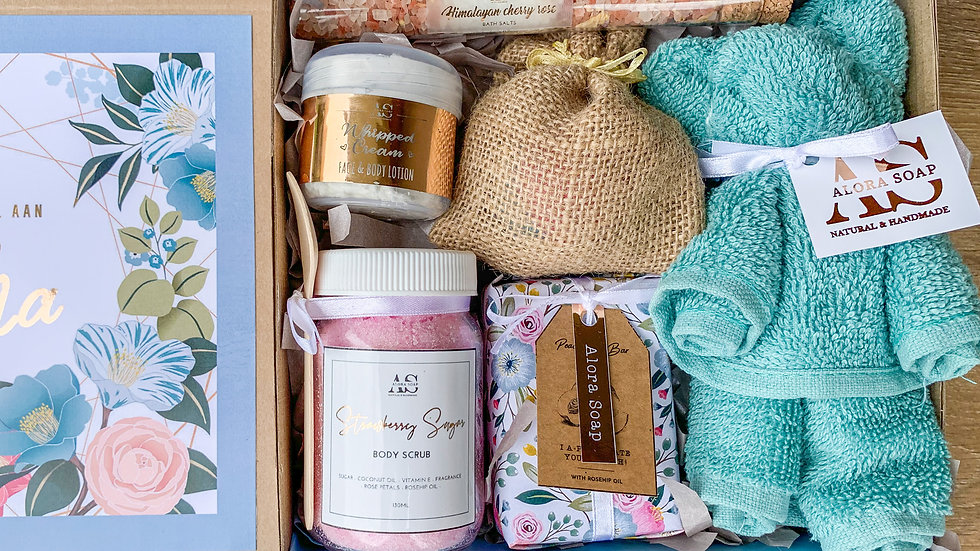Gift Box - Dusty Blue (LARGE OR SMALL)