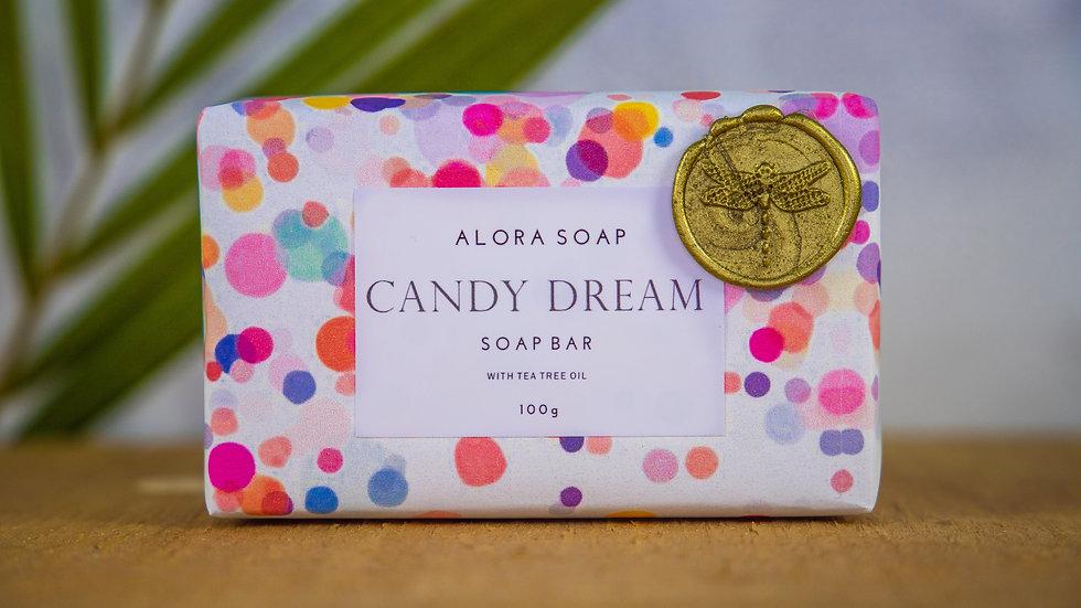 Candy Dream Glycerine Soap bar 100g